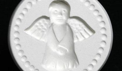 cookie stamp angel