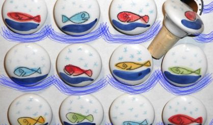 bottle stoppers fish