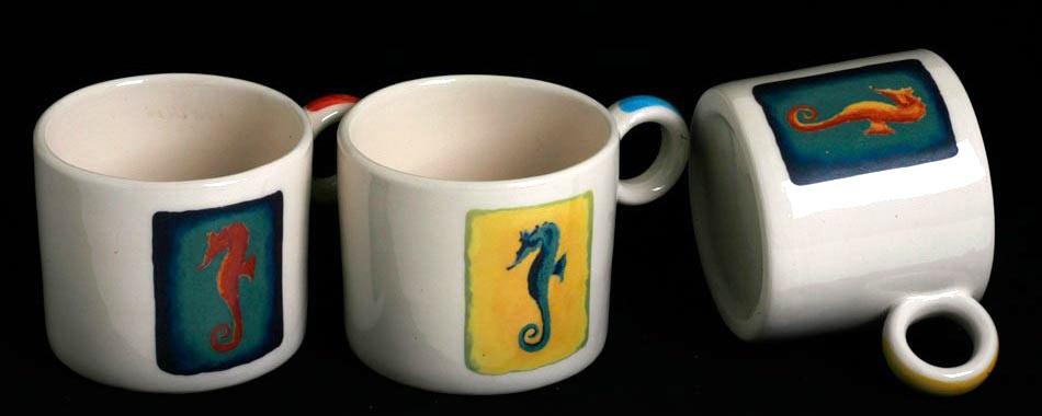 big mug sea horse