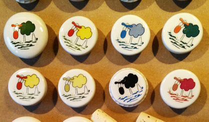 bottle stoppers sheep