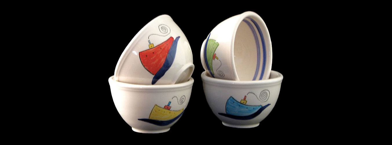 Bowls - Marine motives