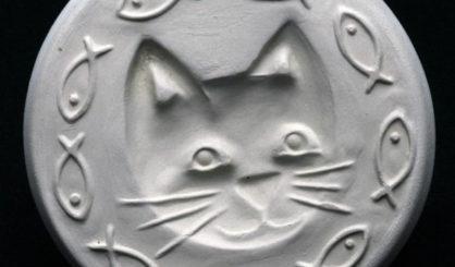 cookie stamp cat