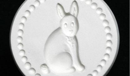 cookie stamp rabbit bunny