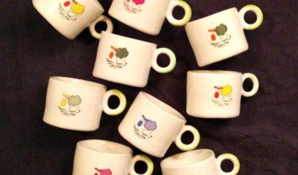 small ceramic mugs sheeps