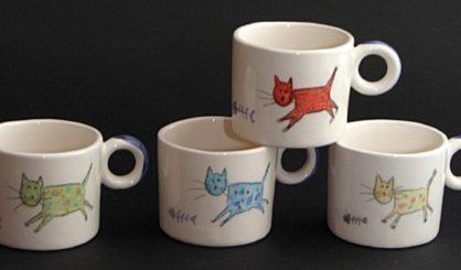 small mugs cats
