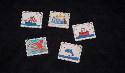 magnets stamp sea