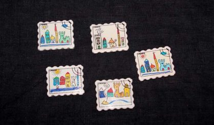 magnet stamp town