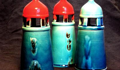 lighthouses glazed